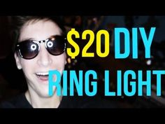 DIY Continuous Ring Light for Under $ 20