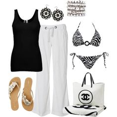 """""""To the beach!"""" by lkbecker on Polyvore"""