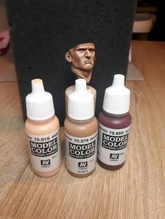 Face Painting Tutorials, Painting Tips, Figure Painting, Painting Techniques, Warhammer Paint, Warhammer Models, Military Figures, Military Diorama, Vallejo Paint