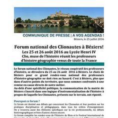Jeudi 25/08 : 16 h 30-17 h 30  -découvrir Béziers et ses aménagements urbains,  avec Jean Pierson et Laurent Galy
