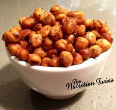 Lemon Sage Chickpea Bursts   YUM! PROTEIN & FIBER Packed   Healthy Snack   GREAT for Entertaining!   Enjoy :) For MORE RECIPES please SIGN UP for our FREE NEWSLETTER www.NutritionTwins.com