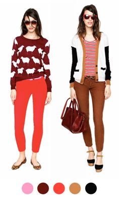 Madewell Fall 2012 on Color Collective