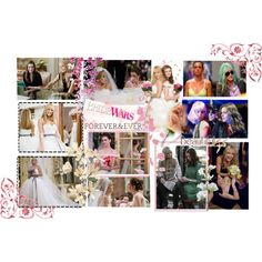 25: Bride Wars by nic7 on Polyvore featuring art