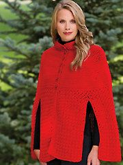 New Crochet Accessory Patterns - Out On The Town Cape
