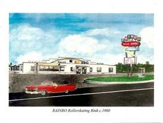 The Rainbo Roller Rink in Noblesville. Went There Every Saturday Night In The Early '60s.