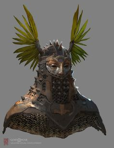 ArtStation - God of War Visual Development: Valkyrie Helms, Vance Kovacs Moana Concept Art, Concept Art World, Creature Concept Art, Environment Concept Art, Batman Concept Art, Fallout Concept Art, Monster Concept Art, Alien Concept, Fantasy Character Design
