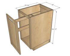 Chic Küche Design Unterschränke Ana Weiß Holzbearbeitung Projekte ...
