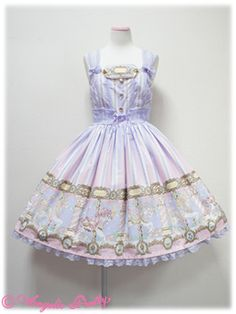 Angelic Pretty Day Dream Carnival Lavender JSK « Lace Market: Lolita Fashion Sales and Auctions