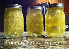How to Can Banana Peppers EASY!