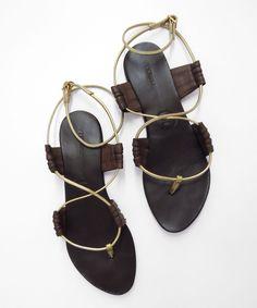Shop Open Toe Wrap Over Sandals TAN online. SheIn offers Open Toe Wrap Over  Sandals TAN   more to fit your fashionable needs. 5c374ea02a