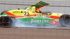 Scott Brayton dies in practice for the 1996 Indy 500.