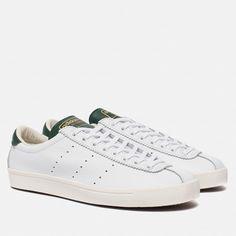 00f792865a20 Мужские кроссовки adidas Spezial Lacombe Core White Chalk White Easy Green