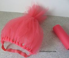 Easy trolls headband diy couple crafts super easy and couples make a troll headband solutioingenieria Image collections