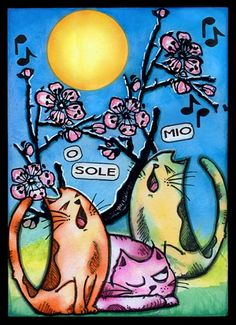 O Sole Mio (by Anja) |
