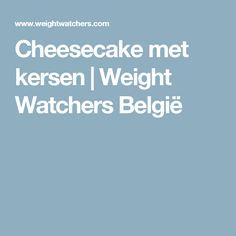 Cheesecake met kersen   Weight Watchers België