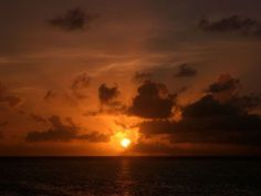 Sunrise over Flynn Reef 2 by Alpha.