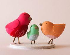 Birds Cake Topper