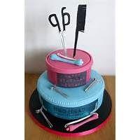 Happy Birthday Hairdresser Cake