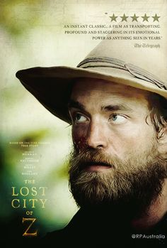 """""""The Lost City of Z"""" 2017."""