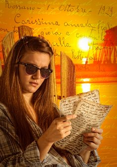 Milena's letters by makm Imagen final del video-tutorial para video2brain (www.video2bra...