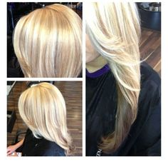 Multi Blonde Hair Color I Want This Color But Thicker Low Light Pieces Not As Much