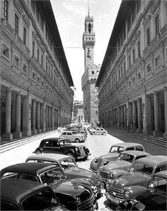 Firenze anni '50 #italianstyle maxmartini.net