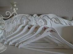 Image result for how to cover coat hangers with lace