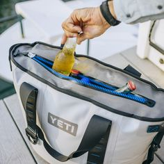 Yeti Hopper The Company's first soft-sided cooler - holy cow this is expensive