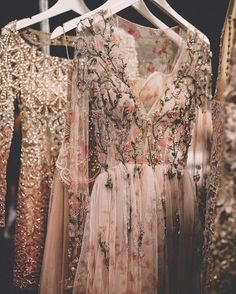 Gowns.
