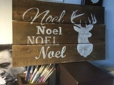 CHRISTMAS PALLET SIGN
