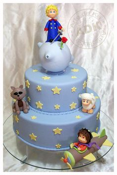 Le Petit Prince cake! I just adore it! :)