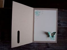 Kreativ am Deich Stampin Up! Card Making Tutorials, Card Making Techniques, Making Ideas, Stampin Up Anleitung, Paper Crafts, Diy Crafts, Butterfly Cards, Stamping Up, Creative Cards