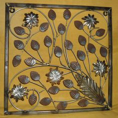 wrought iron wall decor   Products