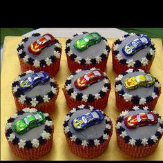 Matchbox car cupcakes | Cupcakes