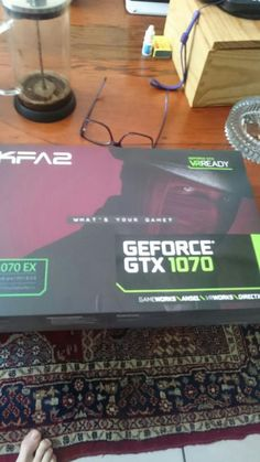 Paid friend from UK to bring GTX 1060 when he visits cos it's cheaper. He brought me this instead and said Merry Christmas, enjoy.