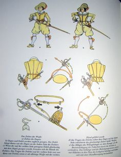 Problem drawing with left hand if hilt pointed to the right Musketeer Costume, Renaissance Festival Costumes, Irish Images, Types Of Armor, 17th Century Clothing, Sword Belt, Thirty Years' War, Landsknecht, Sword Fight