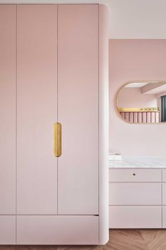 Cultures and Colours Converge in This Taipei Apartment — Design Anthology Living Room Tv Cabinet, Ikea Living Room, Living Rooms, Diy Wardrobe, Wardrobe Design, Dressing Design, Appartement Design, Cupboard Design, Kids Room Design