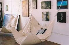 Le Beanock is a UK designed and built bean bag hammock chair that will eventually find its way into our own personal homes. Diy Wanddekorationen, Hammock Chair, Bedroom Hammock, Hammock Swing, Diy Beanbag Chair, Chair Cushions, Indoor Hammock Bed, Room Swing, Home Organization