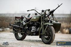 Japanese military motorcycles kurogane type 9