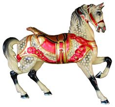 Restored Horse from Glen Echo Park Carousel.