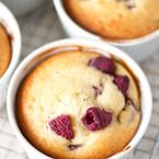 Raspberry Ricotta Mini Cakes Recipe - Style Me Pretty Living