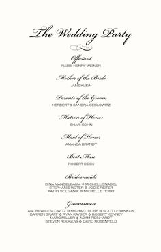 Brambles Wedding Stationery - Order Of Service - Pages- Civil ...