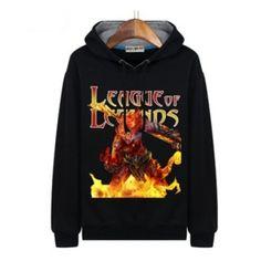 League of Legends Wukong fleece hoodies for men