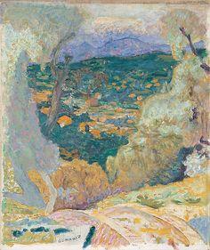 Décor Méridional, Le Cannet, 1928, Pierre Bonnard, musée national d'art moderne, Paris.