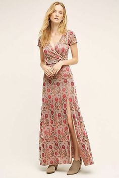 Posy Maxi Sweater Dress by Cecilia Prado/Anthropologie