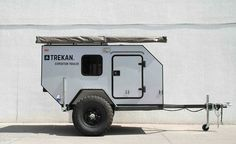 Small Camping Trailer, Small Camper Trailers, Off Road Camper Trailer, Small Campers, Teardrop Camper Plans, Teardrop Camping, Expedition Trailer, Overland Trailer, Work Trailer