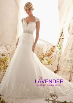 2014 new arrival elegant long A line sexy backless lace wedding dress custom plus size bride gown vestido de novia free shipping-in Wedding Dresses from Weddings & Events on Aliexpress.com | Alibaba Group