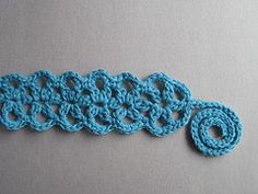 """Star Jasmine"" #crochet headband pattern, $5.50 on Ravelry"
