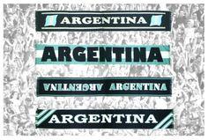 Accesorios y Moda / Bufandas Argentina [Mundial Brasil 2014]