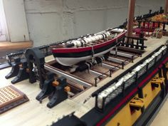 Movie version Surprise by Johncal - HMS Surprise Member Build Diaries - ModelSpace Wooden Model Boats, Master And Commander, Hms Victory, Wooden Ship, Rc Model, Model Ships, Tall Ships, Model Building, Victorious